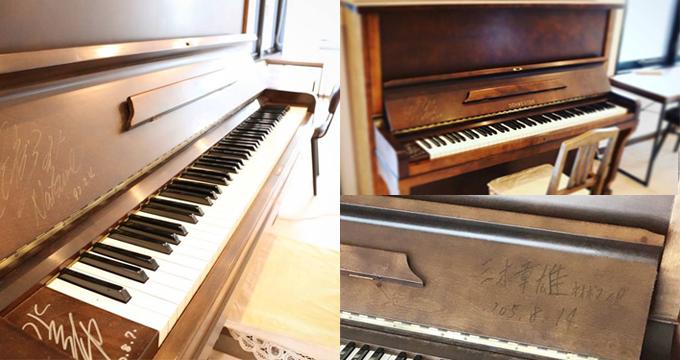 元宝塚歌劇団花組トップスター「大浦みずきさん」が所有していたアップライトピアノ
